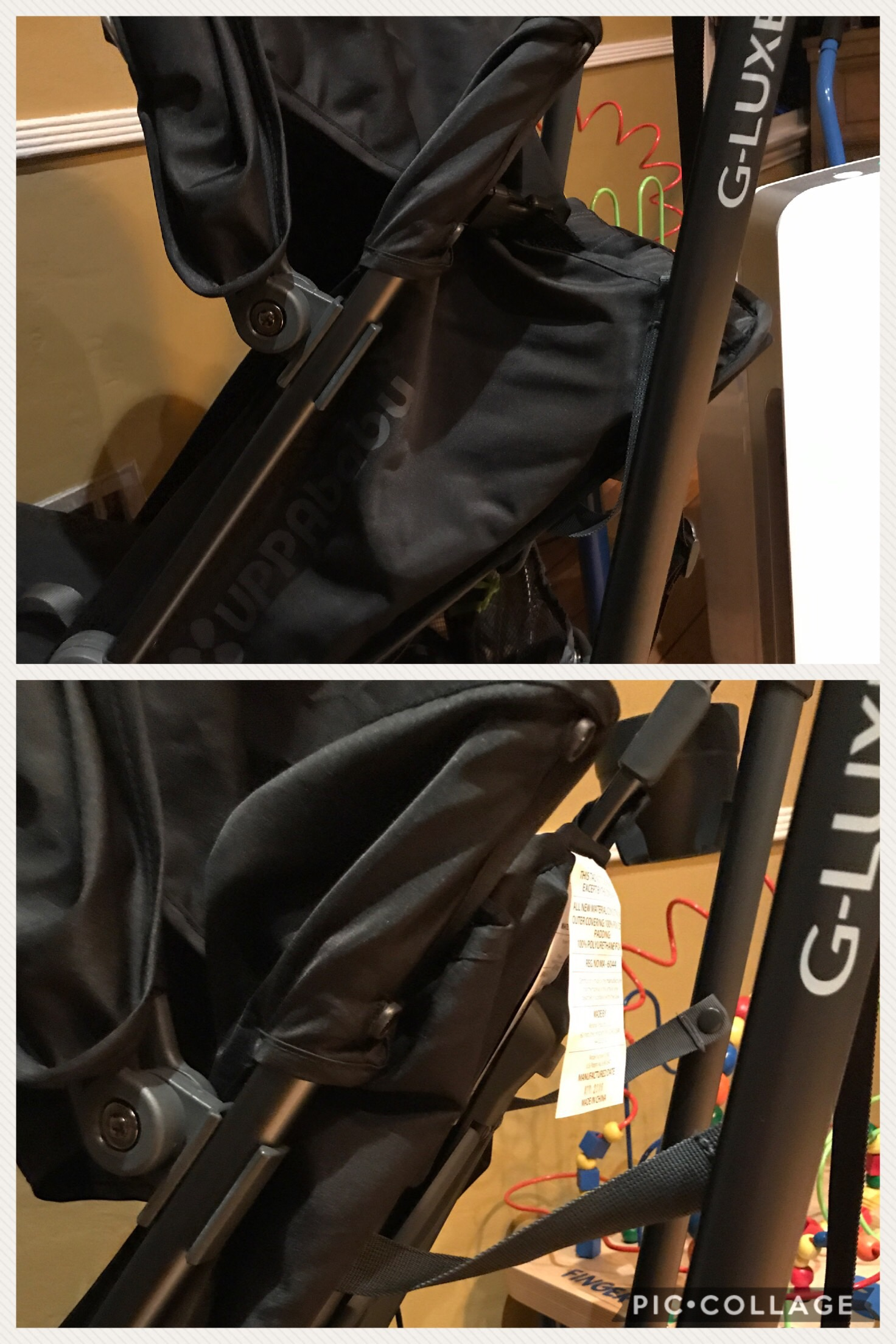 The ... image number 2 of uppababy g luxe canopy replacement ... & Uppababy G Luxe Canopy Replacement u0026 Sc 1 St StrollerStore