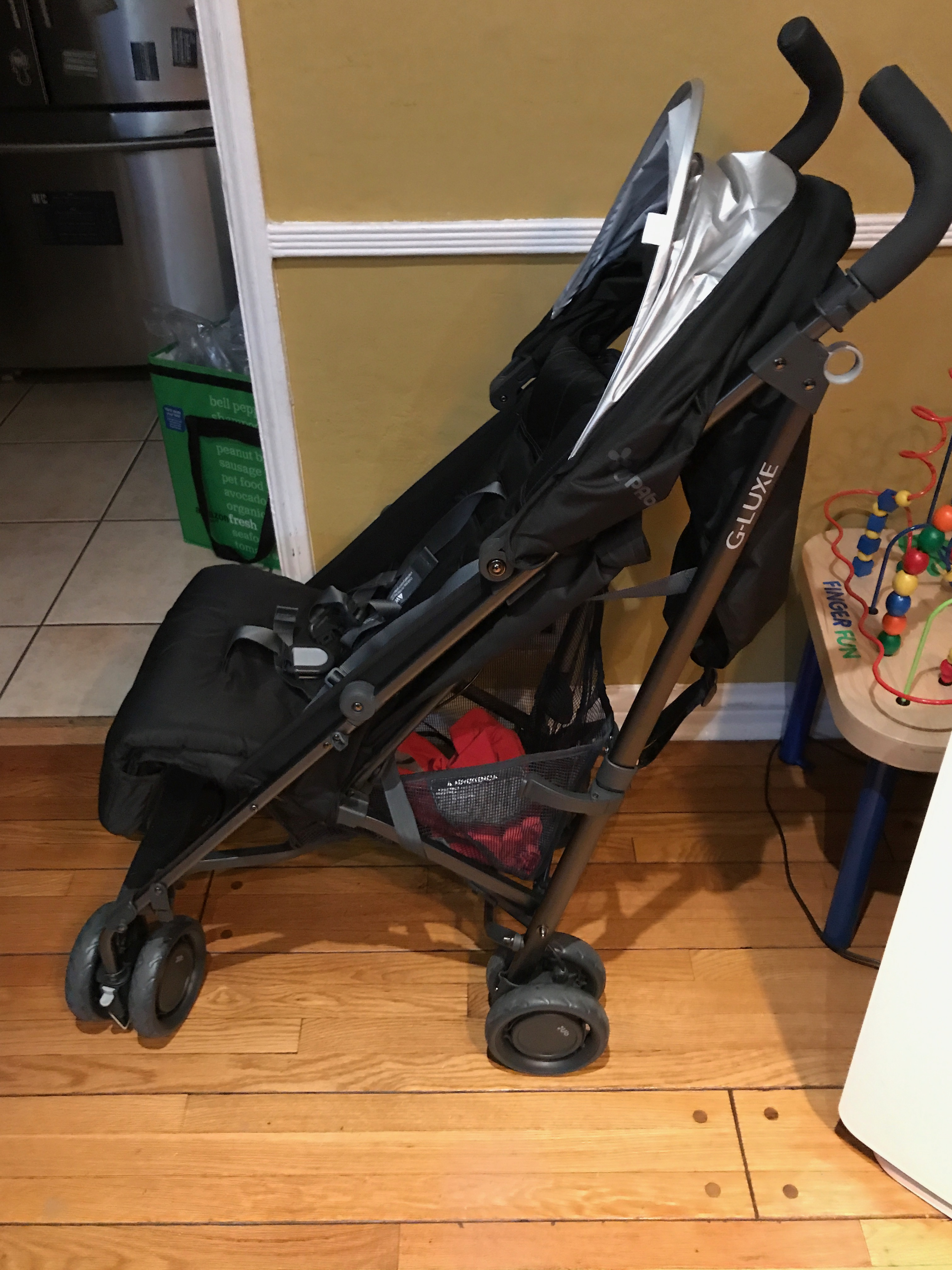 The ... & UPPAbaby G-LUXE Stroller Jake (Black)   Queen of Amazon